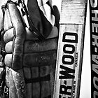 Vintage Hockey Equipment by Cory Bulatovich