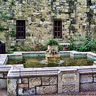 Davy Crockett Fountain - The Alamo by rocamiadesign