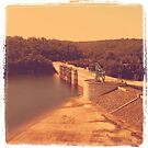 warragamba dam by OTBphotography