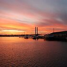 Sunset at Docklands by litratista