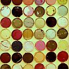 Full Circle - Lids & Paint - 2009 by Eric Leppanen