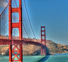 Golden Gate Bridge, San Francisco by Cathy Cormack
