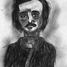 Edgar Allan Poe by Chloe van Leeuwen