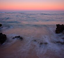 Sunrise On Western Australian Trigg Beach by Carol Trim