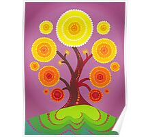 Orb tree of fruition Poster