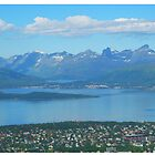 Mountains of Tromso by trish725