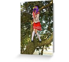 How Do I Get Down? Greeting Card