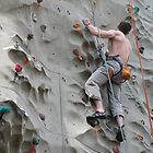 Downtown Wall Climber by Hank Eder