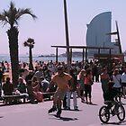 Barceloneta by danimac