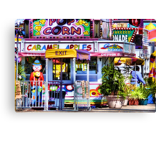 Carnival Goodies Canvas Print