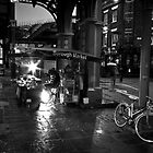 Borough Market, London BW by Kevin Buck