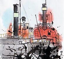 Without  The Sea - tale 2 by Aleksandra Kabakova