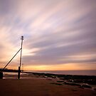 Sunset at Hunstanton,Norfolk by Norfolkimages