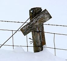A Farmer's Cross ! 1 of 2 / without writing. by Jan Siemucha