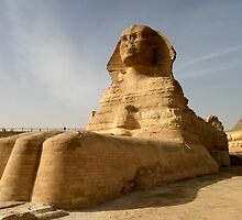 At the Paws of the Sphinx Fine Art Print by Simon Morris