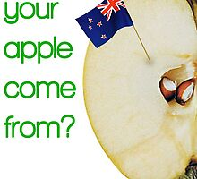 Where does your apple come from? by jrlees1