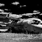 BAe146 G-JEAT Wreck by dave-vaughan