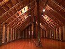 Waitangi Marae (Meeting place) by Roy  Massicks