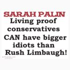 Sarah Palin by mordechai
