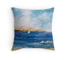 ACROSS THE DERWENT II Throw Pillow