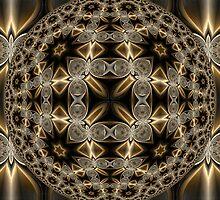 Double Quadrium Orb by Hugh Fathers