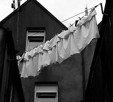 Cobh washing line by Paul  Wesley