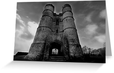 The Gate House - Donnington Castle by Samantha Higgs