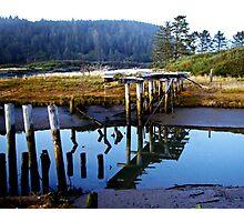 reflecting bridge Photographic Print
