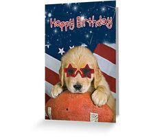 Star-Studded Stud Greeting Card
