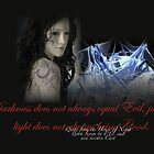 Quote from P.C. Cast + Kristin Cast's book series House of night by Destiney Leigh