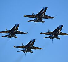 Blue Angels Quad by GarethWilton