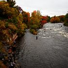 Salmon River - Pulaski, NY by abraxisdesign
