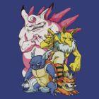 Pokemon Aren't Cute in Battle by stablercake