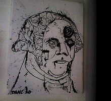 george washington zombie by Dan Colella