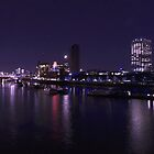 A touch of blue - London at night by Robert Schulz