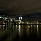 Spooky London at Night by Robert Schulz