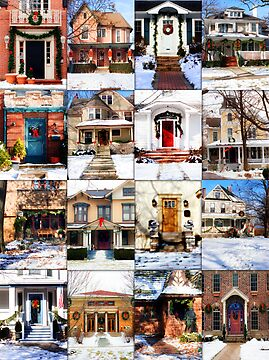 Doors of Riverside Illinois by brian gregory