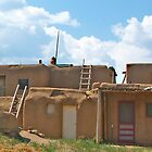 Taos Pueblo Homes by David DeWitt