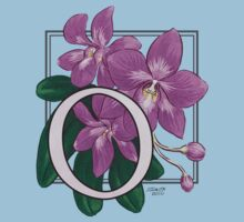 O is for Orchid - full image by Stephanie Smith
