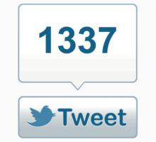 Twitter Tweet Button Shirt - Vertical Count T-Shirt