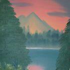 Mountain Lake by zpawpaw