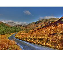 Duddon Valley Road  - Lake District Photographic Print