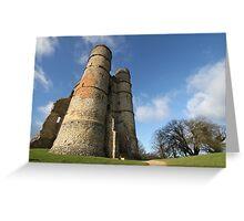 Donnington Castle Greeting Card