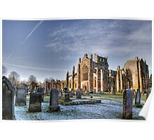 Melrose Abbey Poster