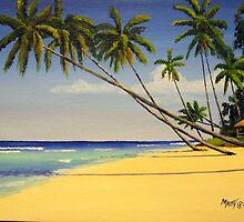 Bajan Beach Bungalow, Barbados, West Indies by Matthew Campbell