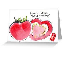 Tomato Hearts 1 Greeting Card