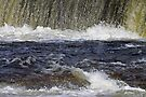 Spring Run Off - Mississippi River, Almonte Ontario by Debbie Pinard