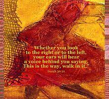 Isaiah 30:21 by Brenjean