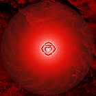 Base Chakra ~ Red ~ Mulahadra ~ Male by Julia Harwood