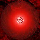 Base Chakra ~ Red ~ Mulahadra ~ Male by Julia Harwood
